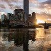 Summer Sunset on the Yarra