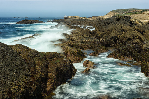The Tide Rolls In At Point Lobos