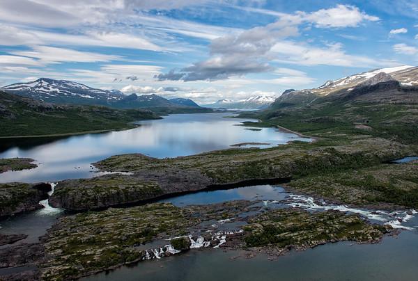 The Remnants of Stora Sjöfallet
