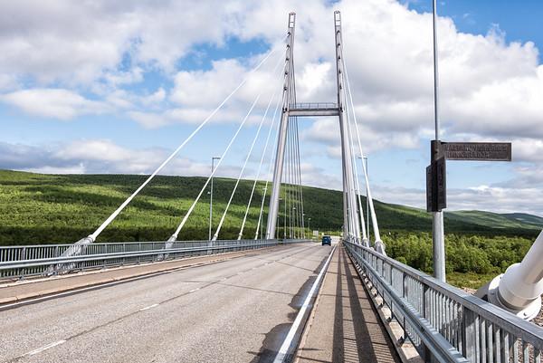 Crossing the Border and the Sami Bridge